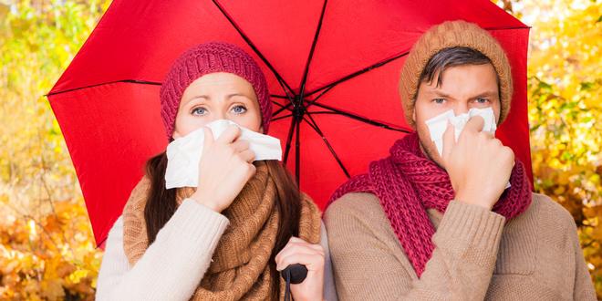 Znaki in simptomi okužbe z RSV